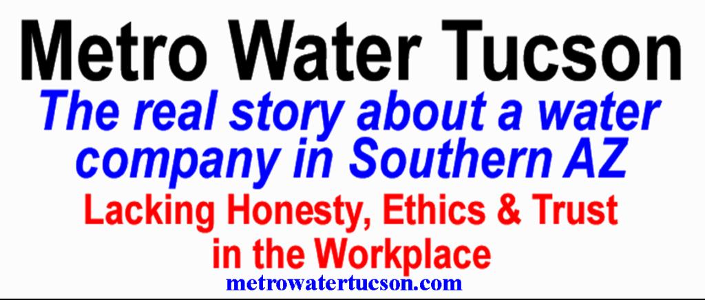 """Metro Water Tucson - Tucson Arizona (metro water tucson az) """"Metro Water"""""""